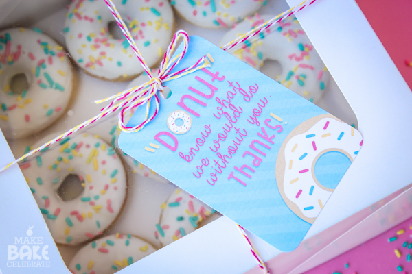 Donuts For Father's Day- We love this idea!