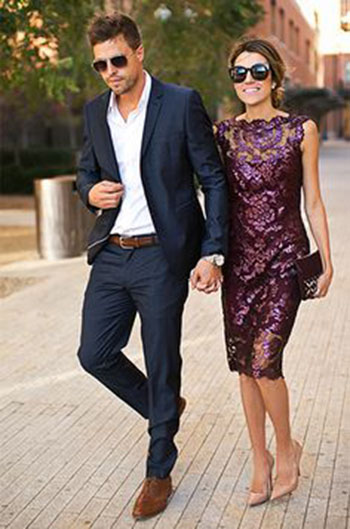 Formal wedding wear