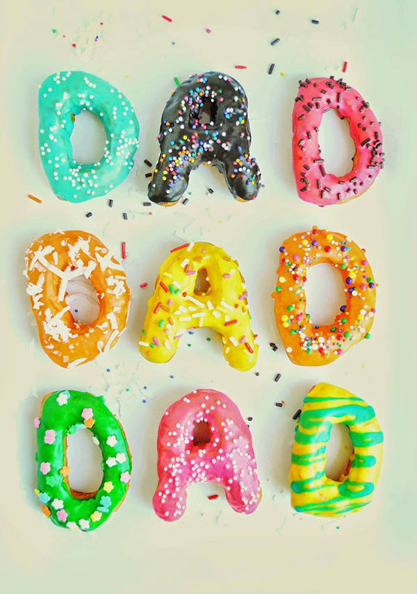 Fun Dad donuts for Father's Day