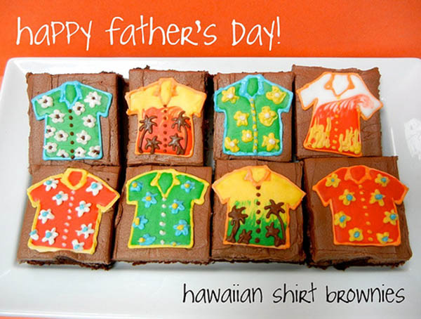 Amazing Father's Day Brownies! Love!