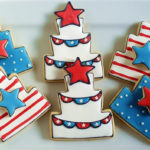 Love these 4th Of July Cake Cookies