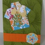 Luau Father's Day Card!