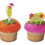 Luau father's Day cupcakes!