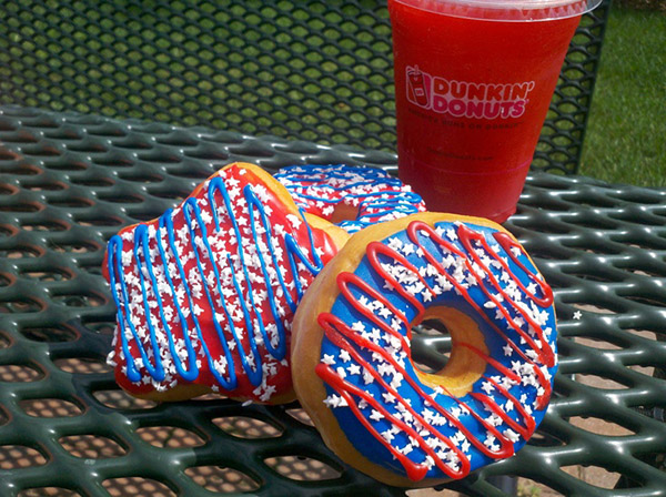 Patriotic 4th of July Donuts!