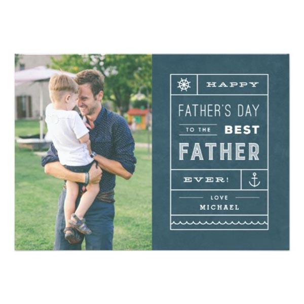 Personalized Father's Day Card