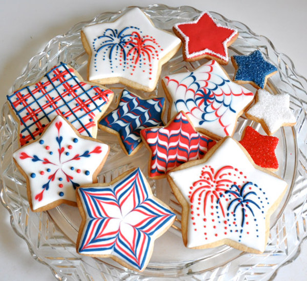 Seriosuly Lovely 4th Of July Cookies!!!