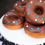 Star spangles donuts for 4th of July!