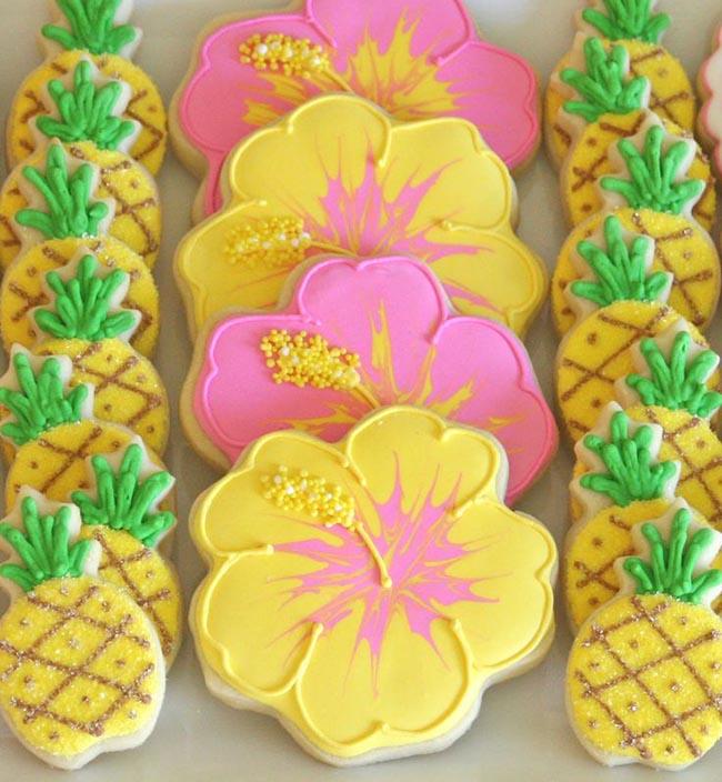 Super Cute Pineapple Cookies!