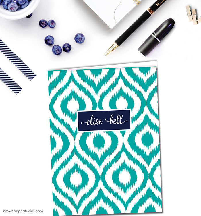 Back To School Giveaway-Win Stylish Folders And Notebooks From Brown Paper Studios! #backtoschool #giveaway