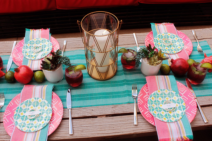 Backyard Summer Dinner Party- B. Lovely Events