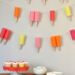 Darling Popsicle Garland For A Party!