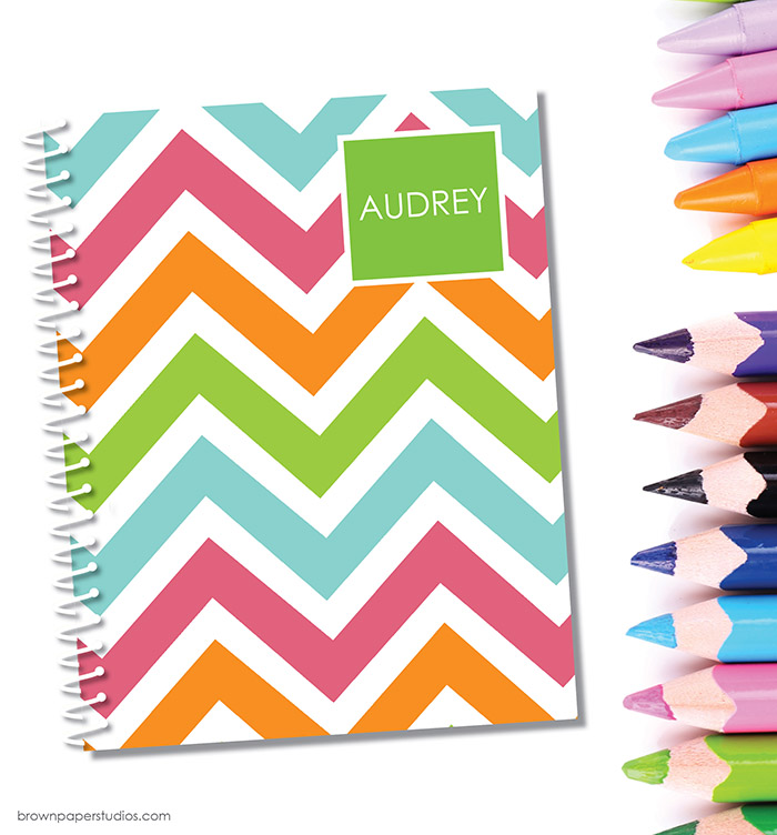 Fun Back To School Giveaway! Win Notebooks & Folders From Brown Paper Studios! #backtoschool