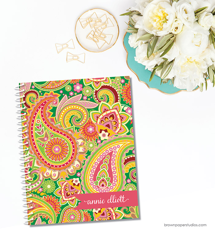 Get Lovely Notebooks Like This With Our Giveaway From Brown Paper Studios! #backtoschool #giveaway
