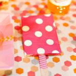 Popsicle Party Napkin Decor!