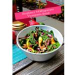 Raspberry PAMAgranate Vinaigrette Salad