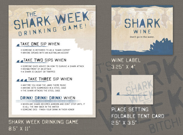 Shark Party Week Game!