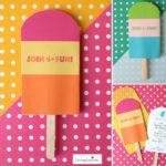 Summer Fun Popsicle Party Invite!