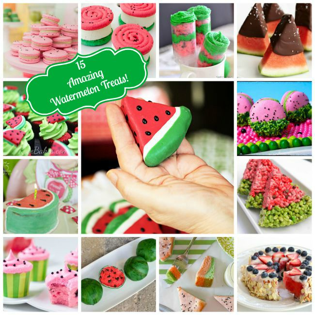 15 Amazing Watermelon Treats and Desserts!