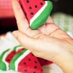 Adorable Watermelon Cake Slices!