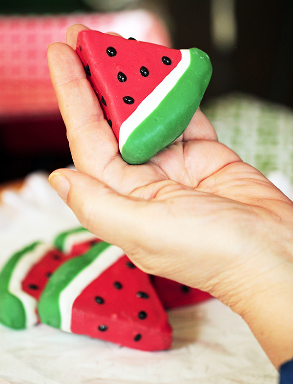 Adorable Watermelon Cake Slices!