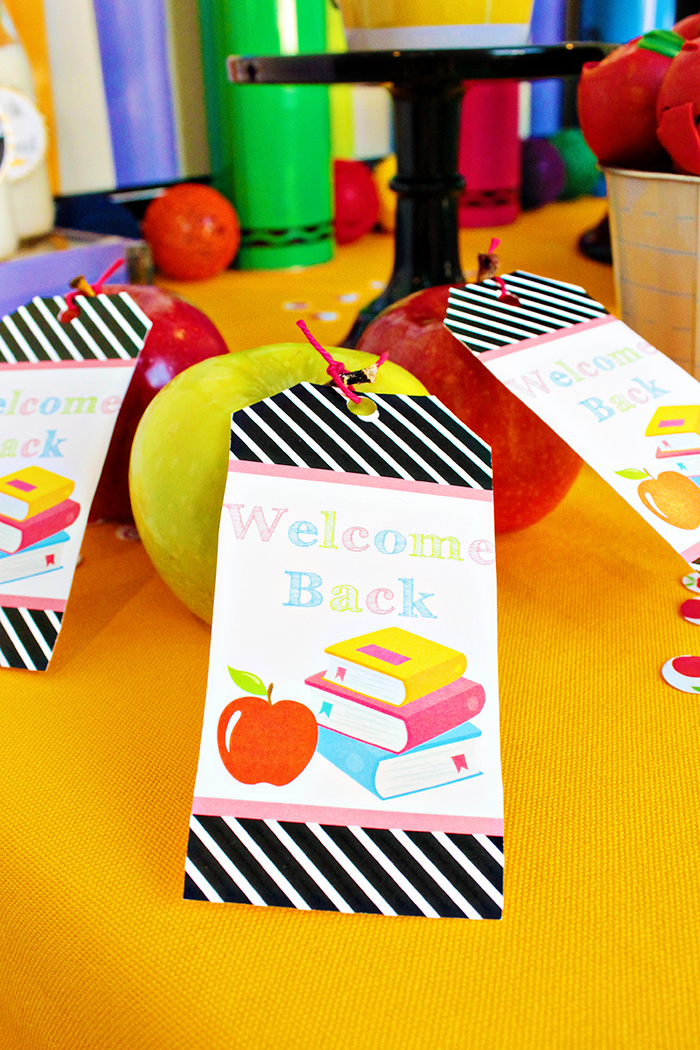 Back To School Apple Favors