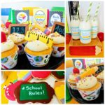 Back To School Cookies & Cupcakes! B. Lovely Events!