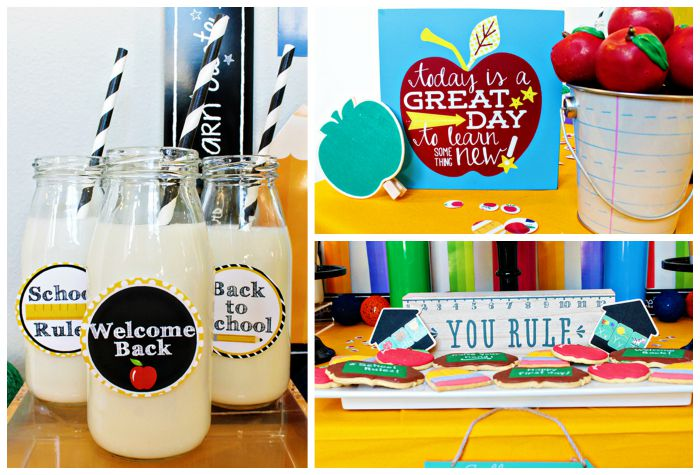 Back To School Party!- B. Lovely Events