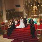 Beautful Cathedral  Real Wedding