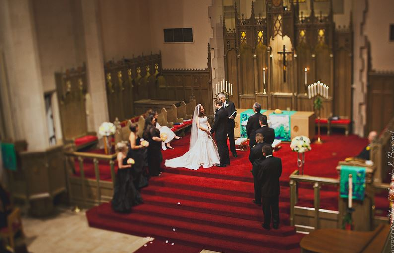 Beautiful Cathedral  Real Wedding  - B. Lovely Events