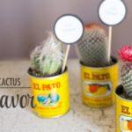 Cactus Party favors!