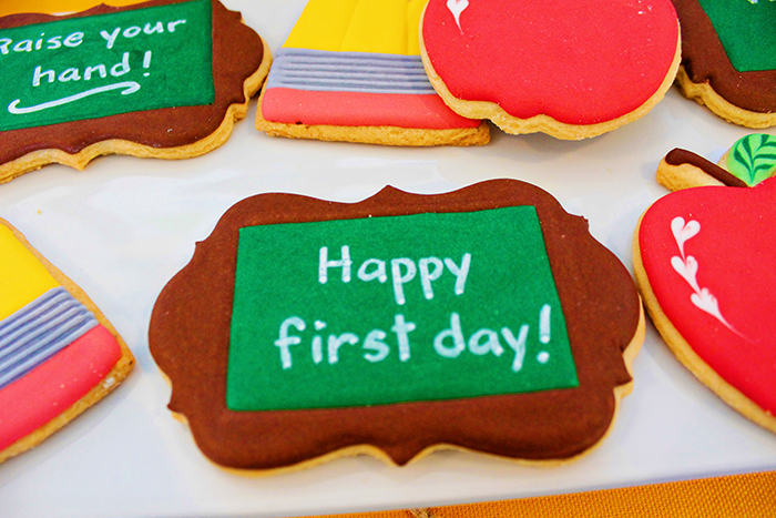 Cute Back To School Cookies