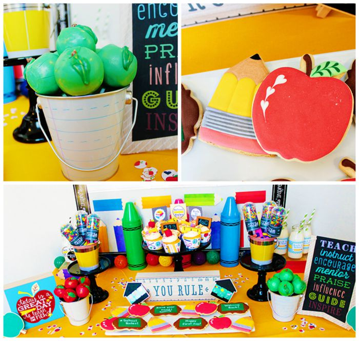 Cute Back To School Party! - B. Lovely Events