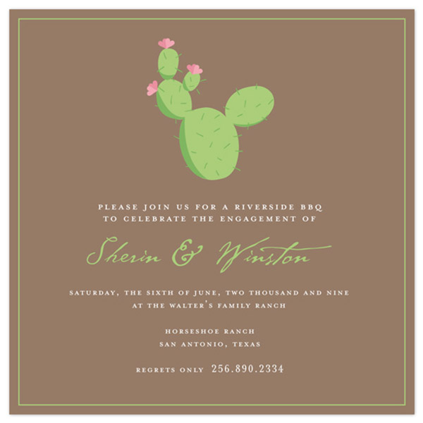 Cute Catus Invitation!