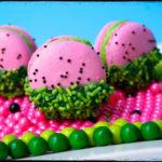 Cute Little Watermelon Macarons!