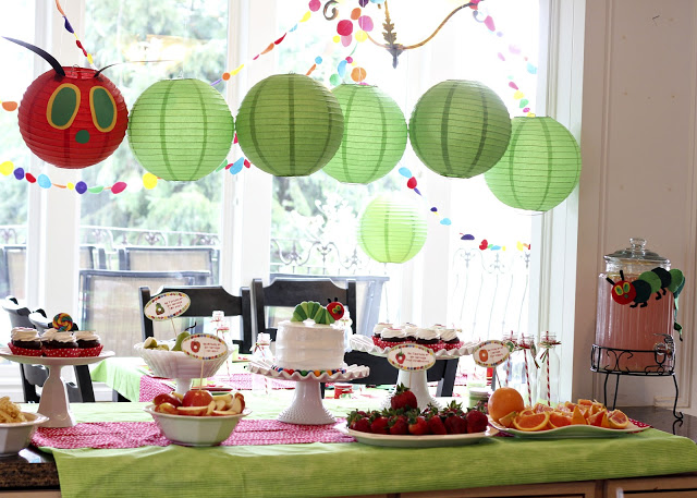 Cute Very Hungry Caterpillar Party!
