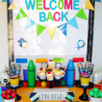 Cute Welcome Back To School Party!