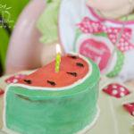 Cute little watermelon cake!