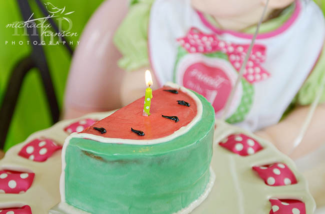 Cute little watermelon cake!