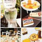 Dirty Thirty Beer Bash Food And Drinks! - B. Lovely Events