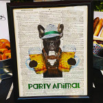 Dirty Thirty Beer Birthday Party Boston Terrier Print! - B. Lovely Events