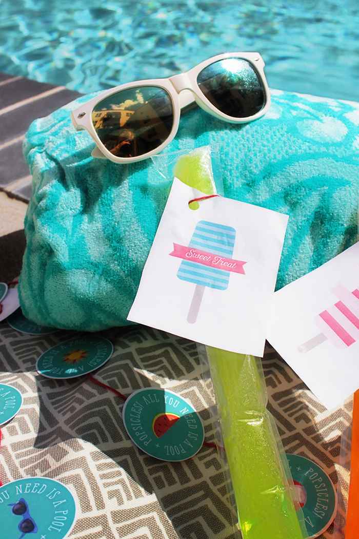 Love Popsicles In the Summer-Look at The Cute Little tags