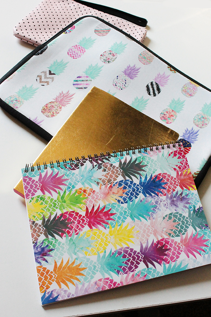 Pineapple Notebooks and Laptop Cases