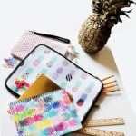 Pineapple school Supplies for back to school!