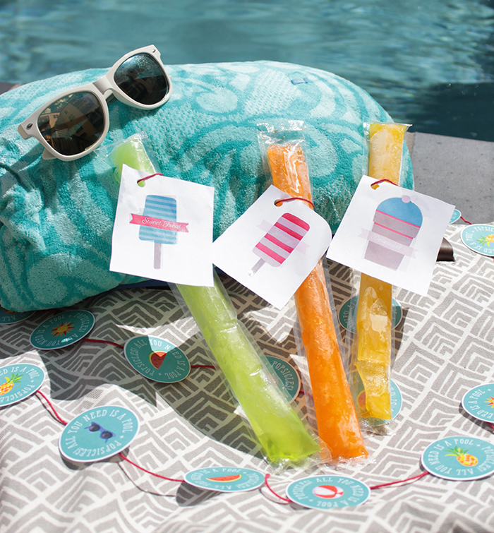 Pool Side Popsicles-Otter Pop Style!