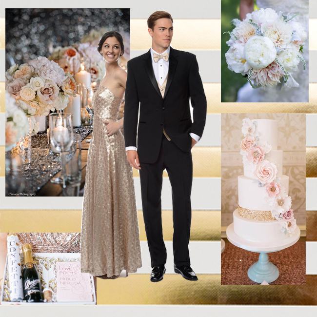 Sequin Wedding Bridal Party Inspiration