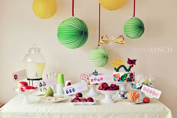Simply Cute Very Hungry Caterpillar Party