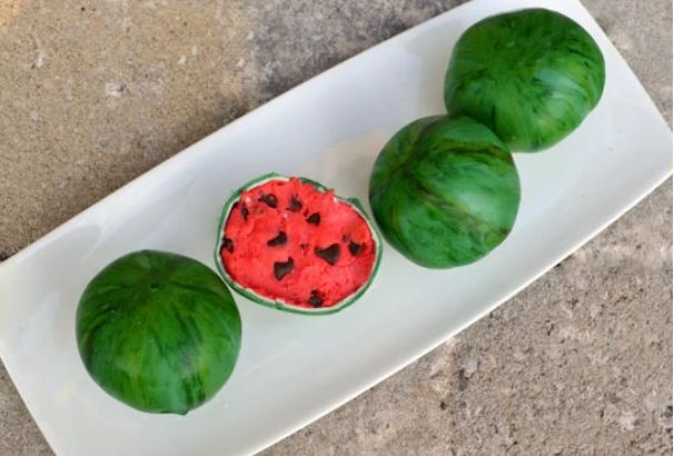 These watermelon calls are too cute