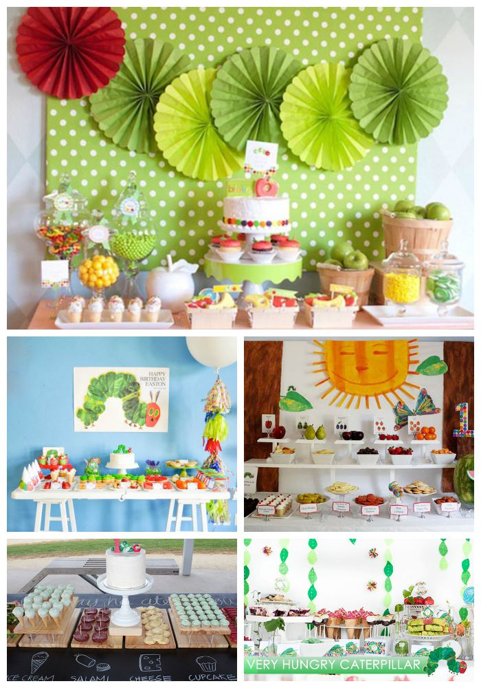 Very Hungry Caterpillar Party Ideas {That rock!} - B. Lovely Events