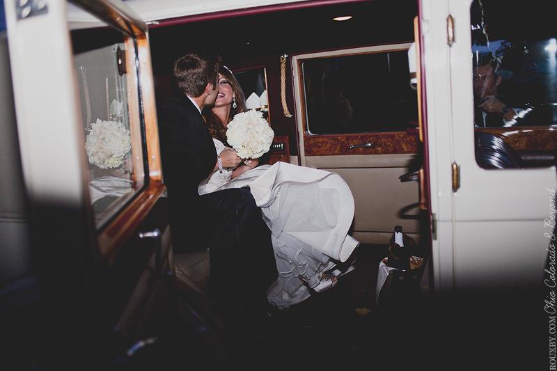Vintage Hollywood Rolls Royce Wedding Car