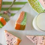 Yum! Watermelon blonde bars!